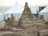 Brighton sand art