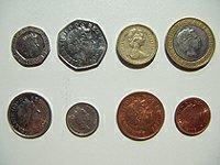 Bank of England coins