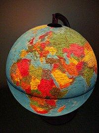 illuminated sphere