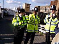 policemen, London
