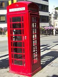 postbox england