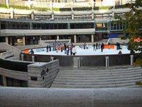 Liverpool station - Icerink