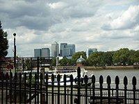London Greenwich pier