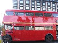 London old double decker bus