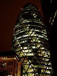 Swiss Tower at night