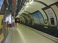 London Piccadilly circus tube station