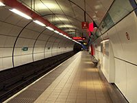 Tube Bank station