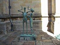 Magdalen College statue