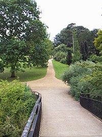 Oxford University Parks High bridge