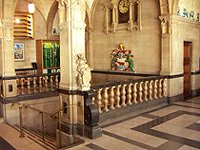 Town Hall Oxford inside