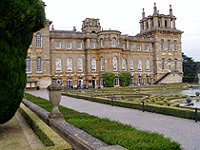 Blenheim Palace and the Formal Gardens