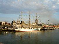 Oostende Belgium - Sailboat